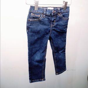 ❤️3/$30 Baby Gap Dark Blue Skinny Jeans 2T